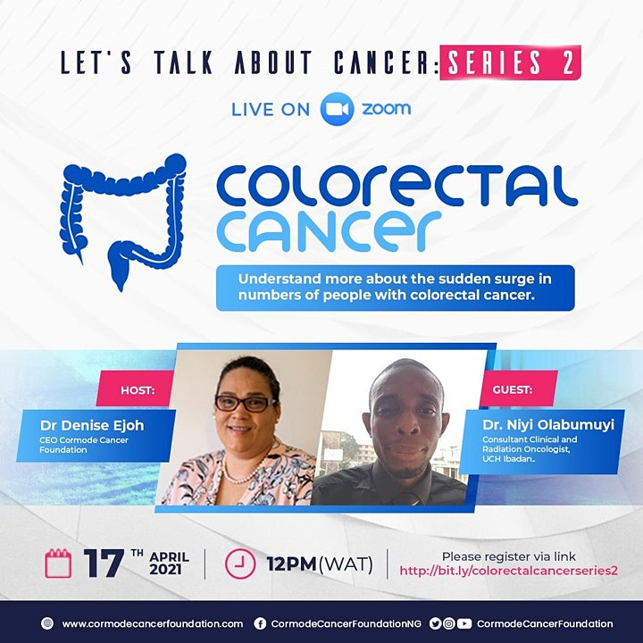 Let's Talk About Cancer Series 2: Colorectal Cancer image