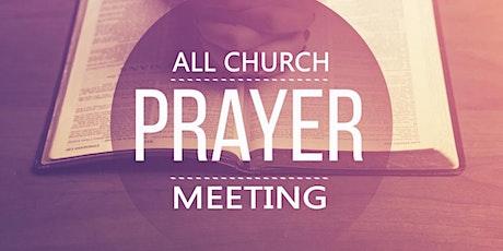 Church Prayer Meeting tickets