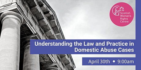 Understanding the Law and Practice in Domestic Abuse Cases tickets