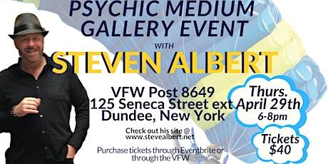 Steven Albert: Psychic Medium Gallery VFW - 4/29 tickets