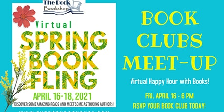 SBF: Book Clubs Meet-Up Virtual Happy Hour tickets