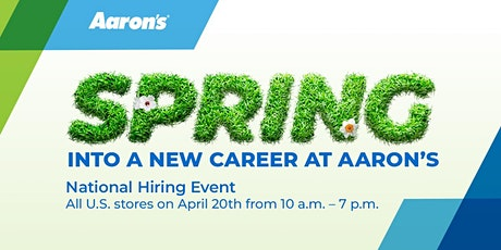 Spring into a Career with Aaron's: National Hiring Event tickets