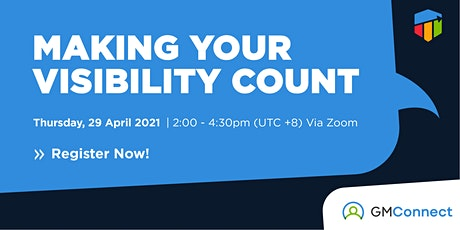 GoalsMapper Webinar: Making Your Visibility Count tickets