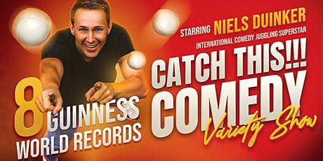 Catch This!!! Comedy Variety Show Starring Niels Duinker tickets