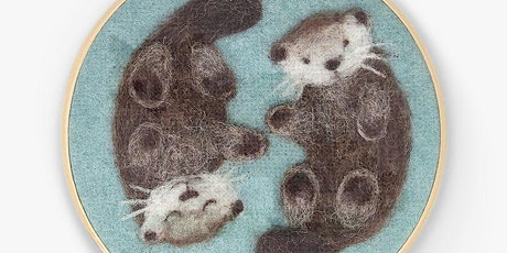 2D NEEDLE FELTING WITH THE CRAFTY KIT COMPANY - £5 tickets