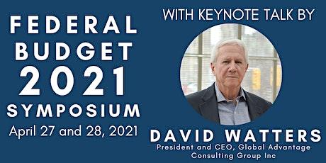 Federal Budget 2021 Symposium tickets