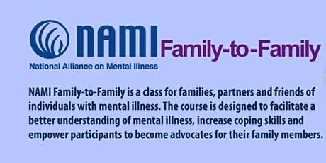 NAMI CHARLOTTE FAMILY TO FAMILY CLASS tickets