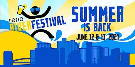2021 Reno River Festival tickets
