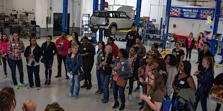 Heels & Wheels Workshop - Empowering Women In Car Care tickets