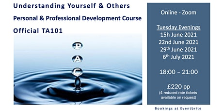 Understanding Yourself & Others tickets