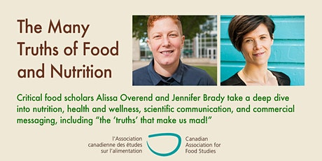 The Many Truths of Food and Nutrition tickets