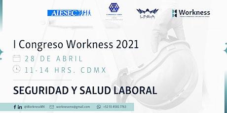 I Congreso Workness en Seguridad y Salud Laboral boletos