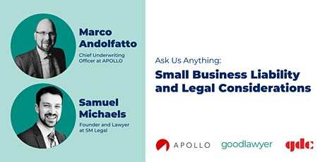 Ask Us Anything: Small Business Liability and Legal Considerations tickets