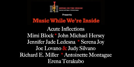 Music While We're Inside Free Jazz Concert on Sunday, April 11th at 6PM tickets