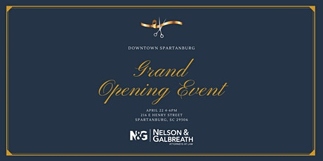 Downtown Spartanburg Grand Opening tickets