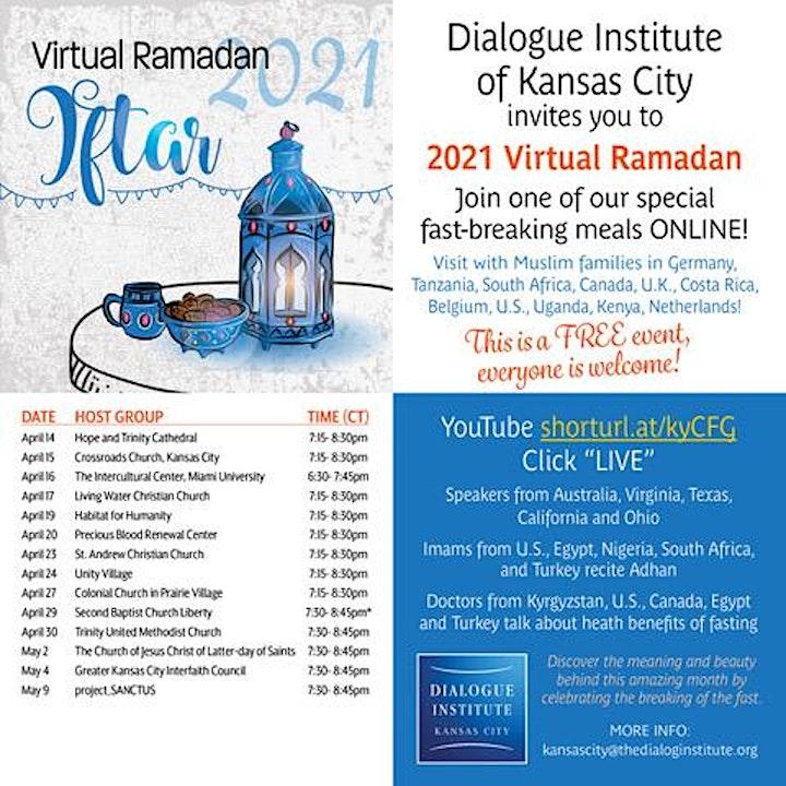 Virtual Ramadan Iftar With St. Francis Xavier image