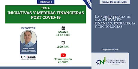Fase 1/4: Iniciativas y Medidas FINANCIERAS post COVID-19 entradas