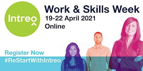 Intreo Work & Skills Week - Work Supports for Jobseekers tickets