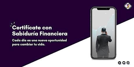 Certificación - Master Coach Financiero boletos