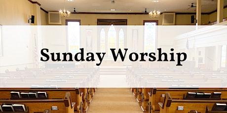 Apr. 25 Worship - 10:30 am tickets
