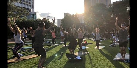 Tuesday Night Yoga at Discovery Green tickets