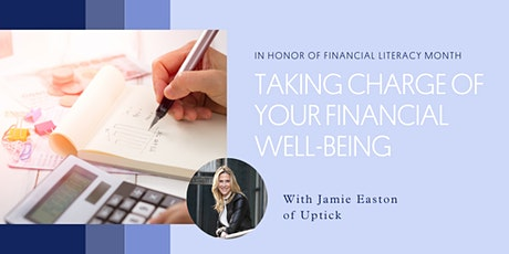 Taking Charge of Your Financial Well-Being tickets