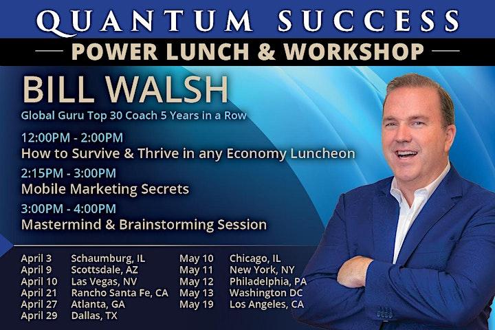 Quantum Success Power Lunch/Workshop  Las Vegas image