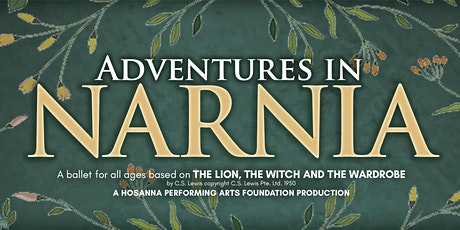 Adventures in Narnia tickets