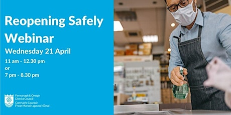 Reopening Safely Webinar tickets