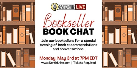 Northshire Live: Bookseller Bookchat tickets