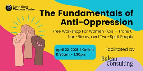 Fundamentals of Anti-Oppression with Bakau Consulting tickets