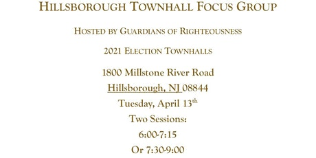 HILLSBOROUGH NJ TOWNHALL-FOCUS GROUP tickets