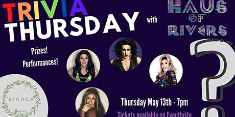 Trivia Thursday with Haus of Rivers tickets