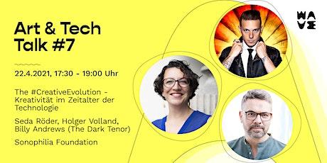 Art & Tech Talk #7 Kreativität im Zeitalter der Technologie Tickets