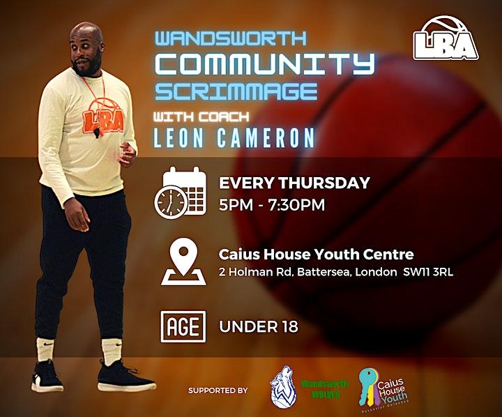 U18 Wandsworth Community Scrimmages - Weekly Basketball image