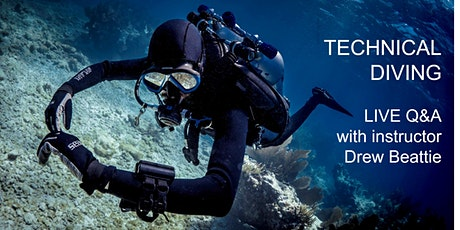 Technical Diving - Live Q&A with Drew Beattie tickets