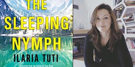 Ilaria Tuti discusses The Sleeping Nymph tickets