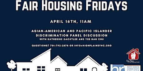 Fair Housing Friday:  Asian American Discrimination Discussion tickets