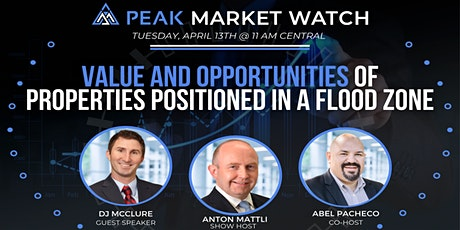 Value And Opportunities  Of Properties Positioned In A Flood Zone tickets