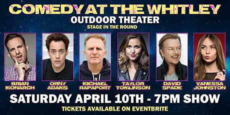 David Spade, Michael Rapaport, Taylor Tomlinson & More Outdoor Comedy Show tickets