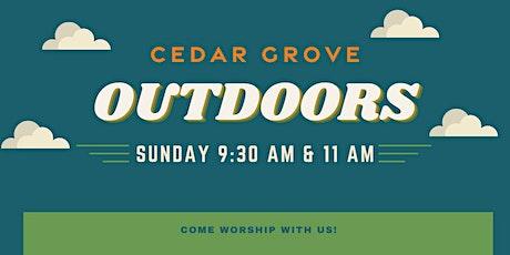 Cedar Grove Outdoors tickets