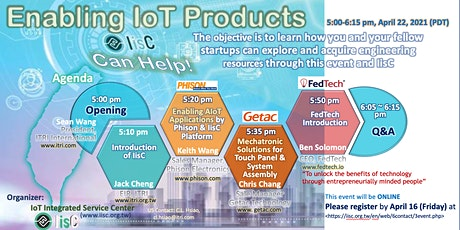 Enabling IoT Products entradas