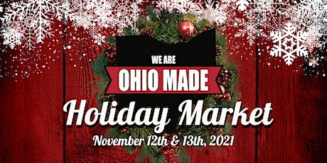 2021 Ohio Made Holiday Market tickets