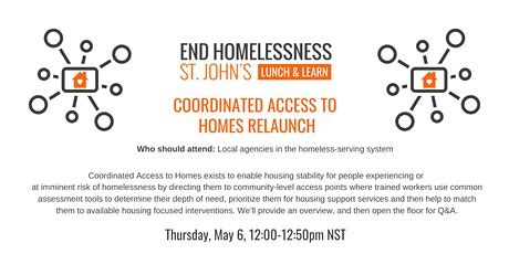 Coordinated Access to Homes tickets