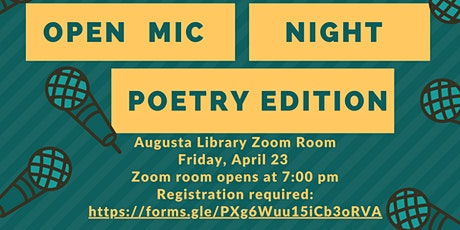 Open Mic Night Poetry Edition tickets