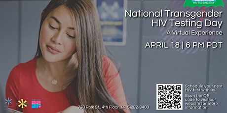 National Transgender HIV Testing Day: A Virtual Experience tickets