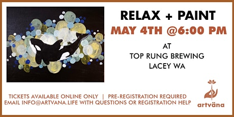Relax and Paint at Top Rung Brewing! tickets