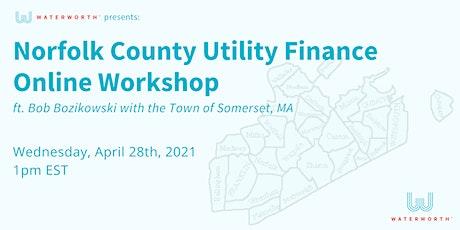 Utility Finance Online Workshop tickets