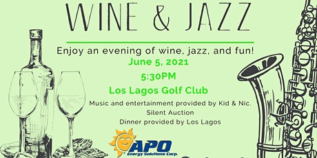 Wine and Jazz tickets