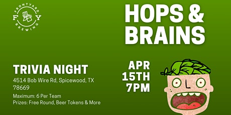 TRIVIA: Hops & Brains tickets